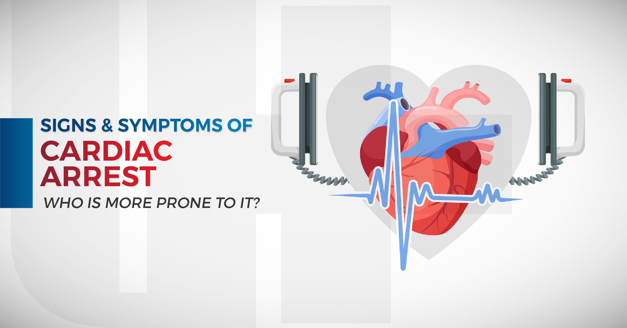 Signs & Symptoms of Cardiac Arrest